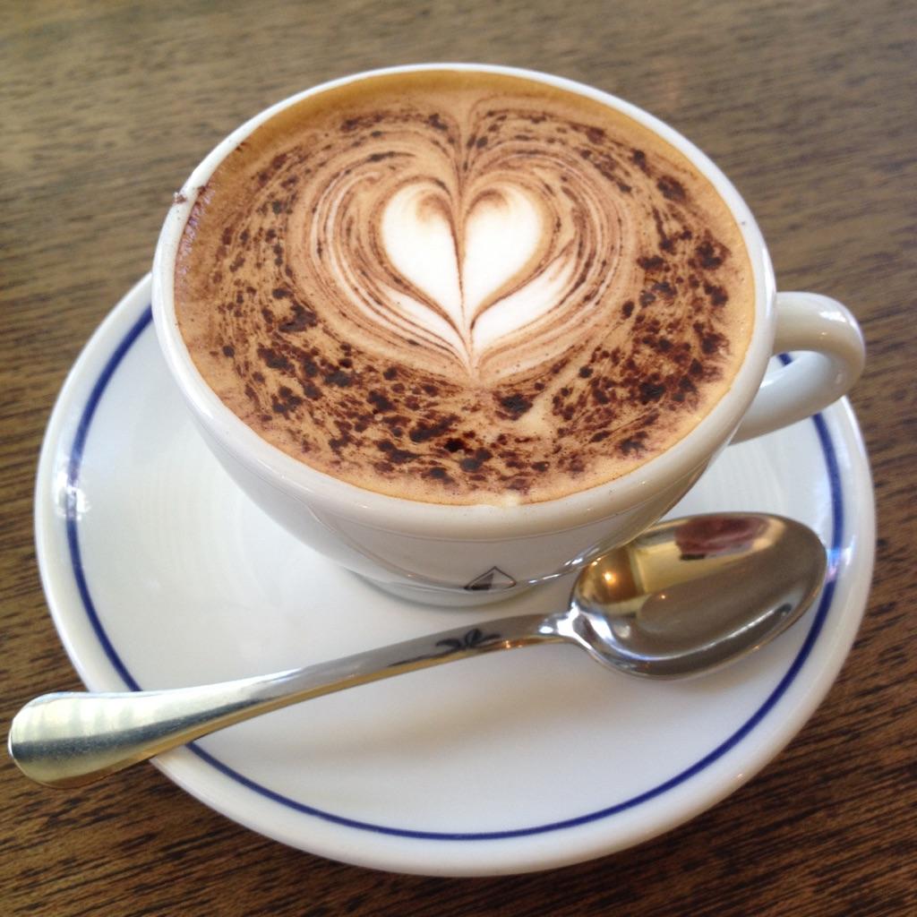 COFFEEE HOUSE NISHIYA cappuccino
